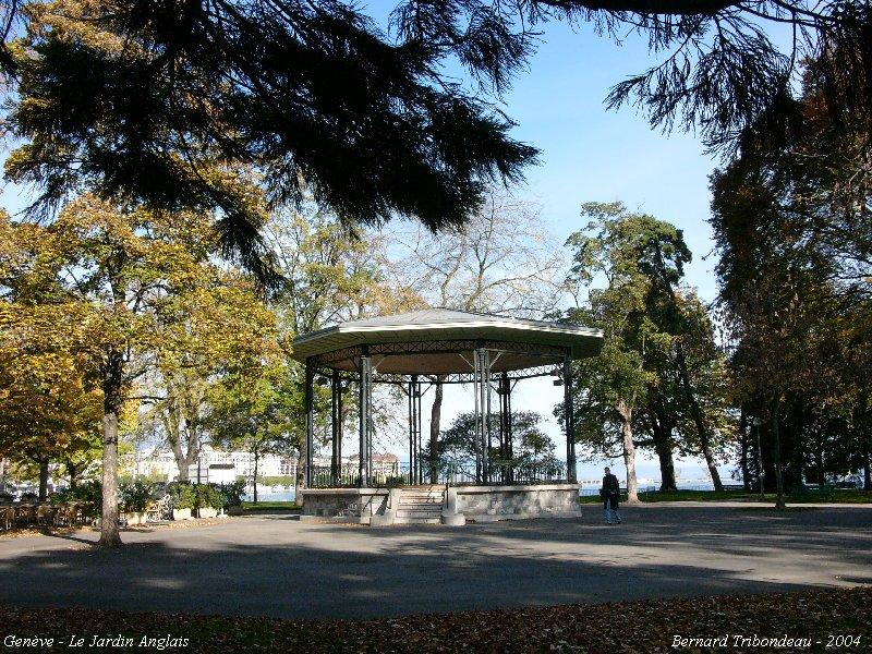 Des kiosques musique bandstands gen ve le jardin for Le jardin geneve