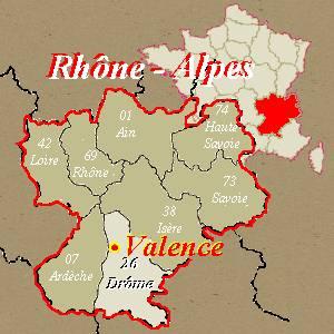 valence region rhone alpes